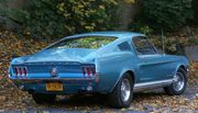1967 Ford Mustang 2-Door Fastback 2+2 with Sport Deck Rear Seat